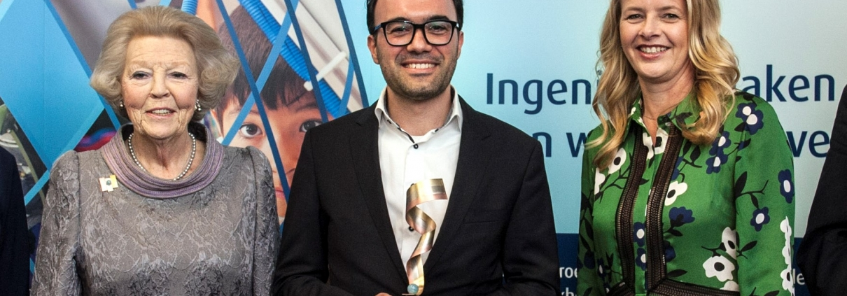 Prins Friso Engineer of the year 2018 kiest voor Webconstructions Delft - webconstructions