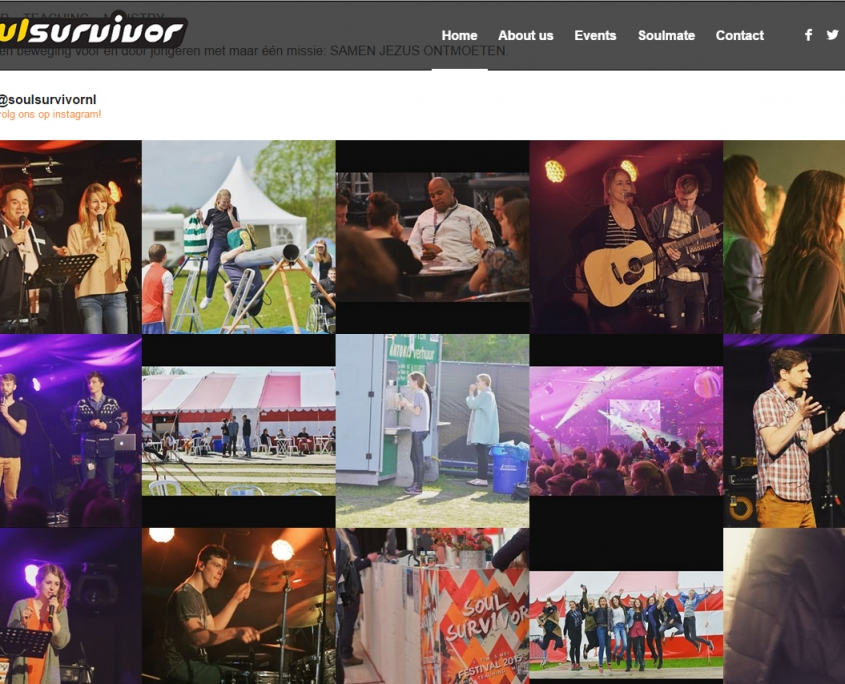 WordPress - Soul Survivor countdown site - Soul Survivor countdown