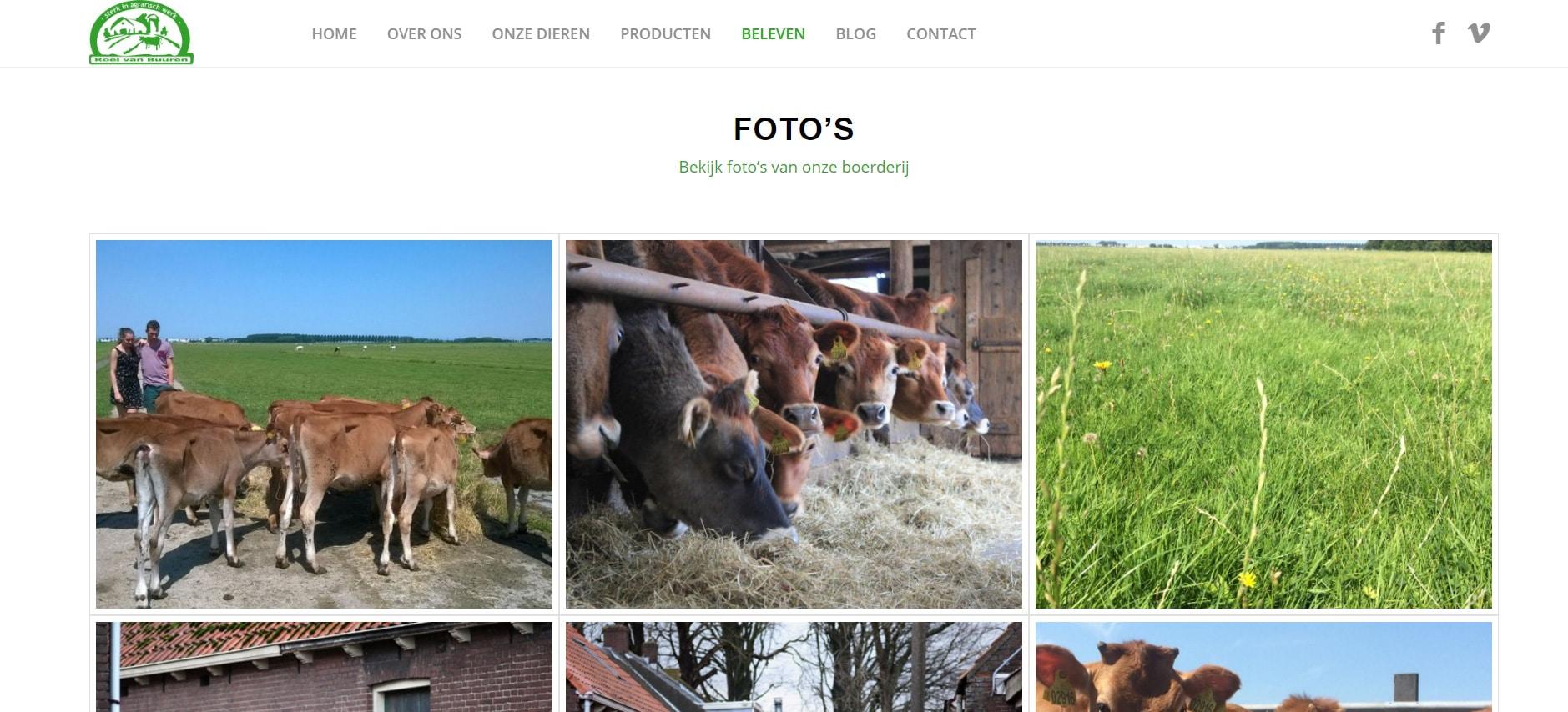WordPress - Boerderij Landlust -