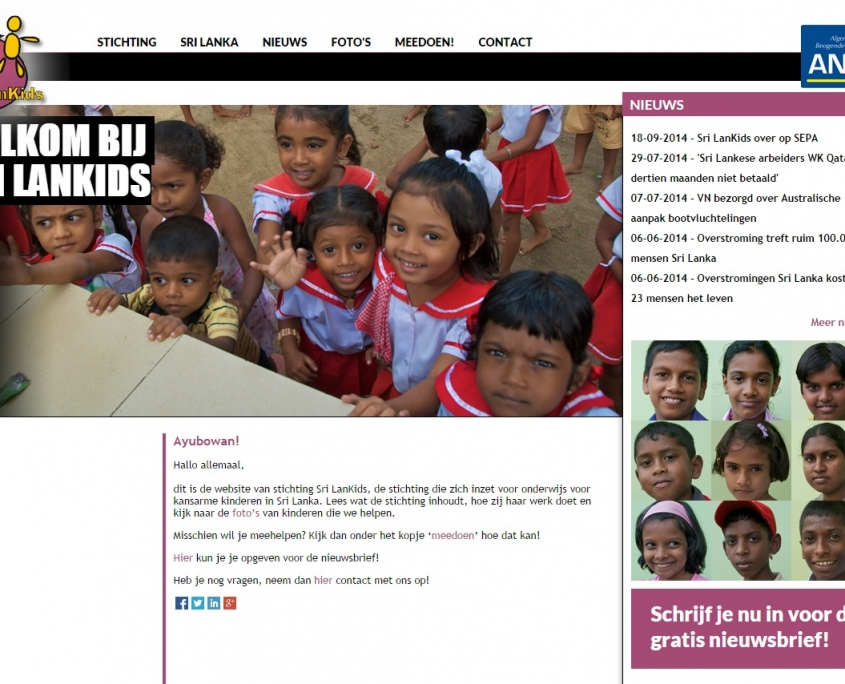 WordPress - Srilankids - srilankids