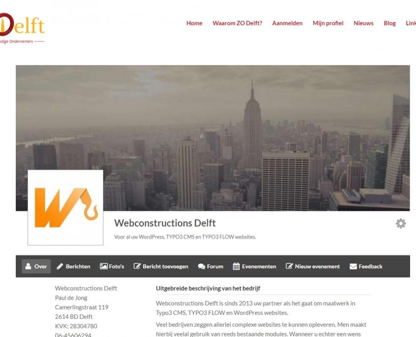 WordPress - ZO-Delft - ZO-Delft