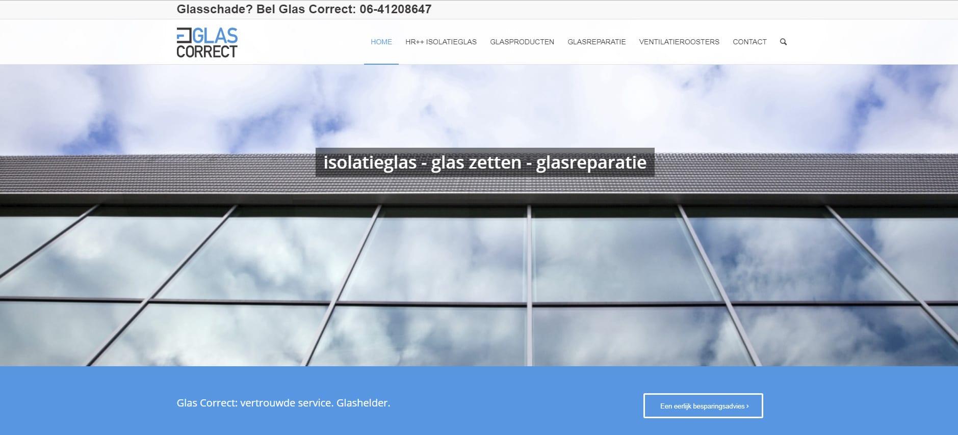 WordPress - Glascorrect - Glascorrect