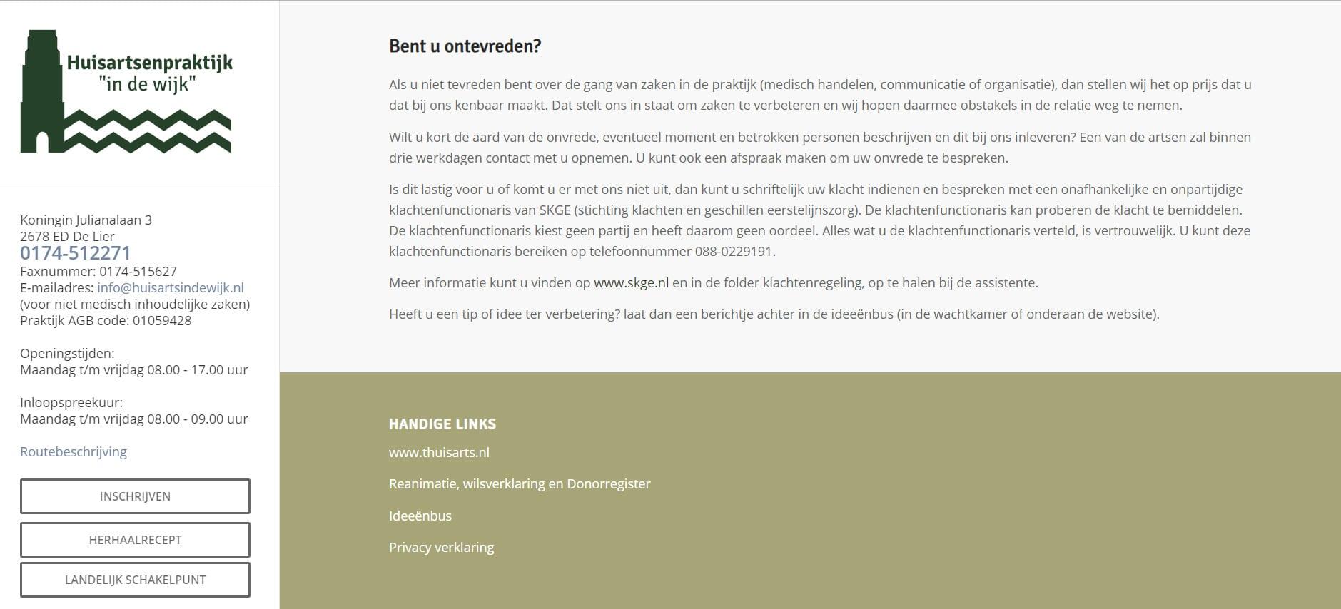 WordPress - Huisartsindewijk - huisarts in de wijk