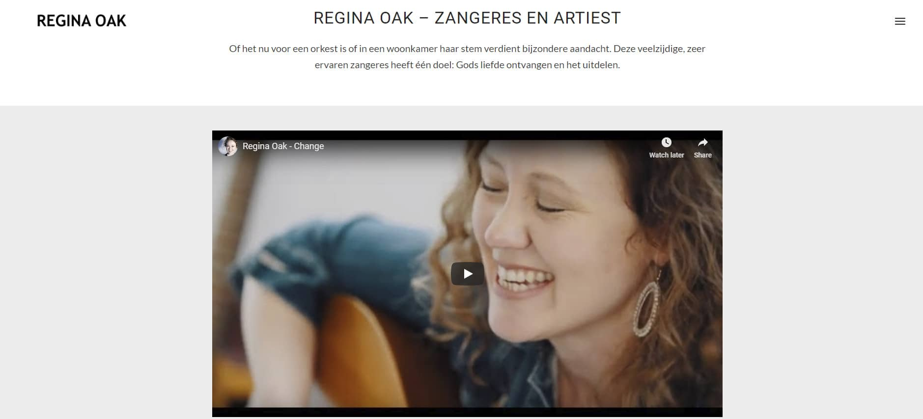 WordPress - Regina Oak - Regina Oak