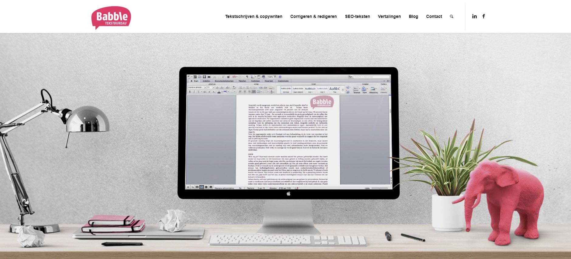 WordPress - Tekstbureau Babble -