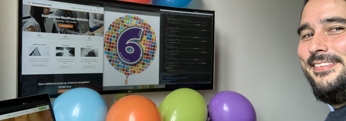 Happy 6th birthday Webconstructions! - webconstructions