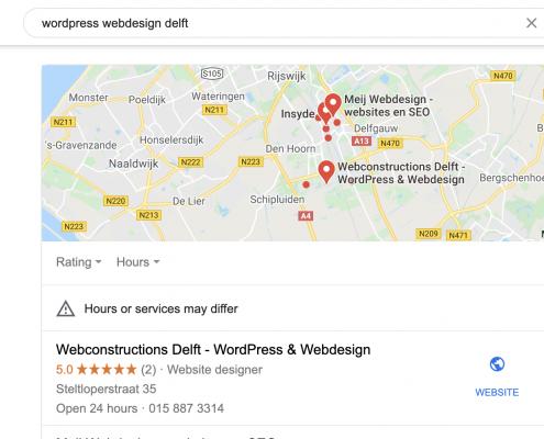 Vindbare website door het gebruik van lokale SEO in Delft