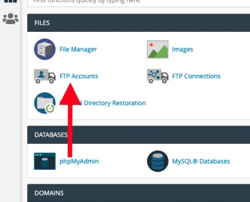 Gehackte WordPress website repareren - Nieuwe FTP gebruiker